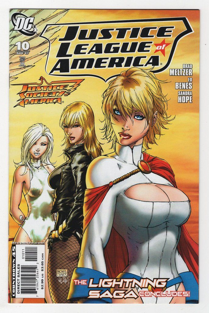 Justice League of America #10 Regular Michael Turner Cover (2007)