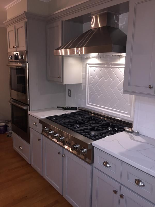 Zline 48 In Rangetop With 7 Gas Burners Rt48 Kitchen Remodel Diy Kitchen Renovation Small American Kitchens