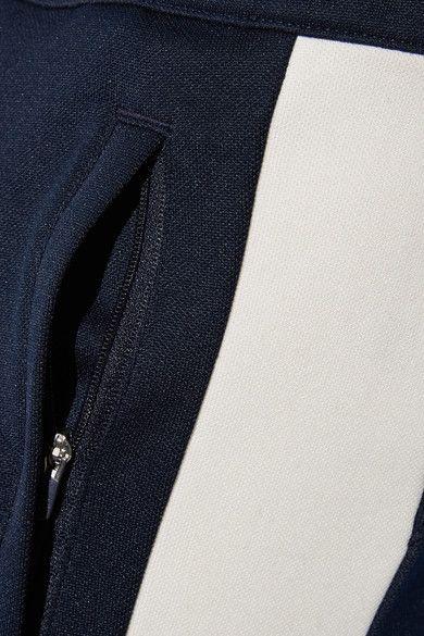 Tory Sport - Stretch-piqué Track Pants - Midnight blue - x small