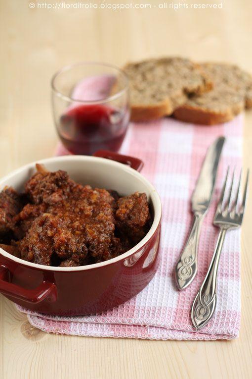 Wild boar stew.. So yummy!!!