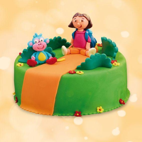 Tort Dora Poznaje Świat