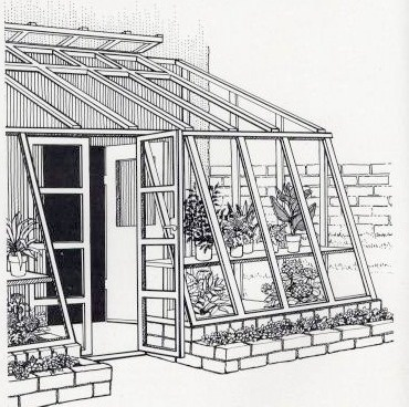 Lean to greenhouse garden stuctures to build pinterest for Lean to greenhouse plans free