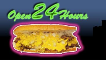 Another Cheese Steak Image-- this one is from Geno's