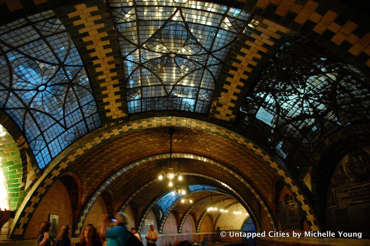 Touring the Old City Hall Subway Station | Untapped Cities