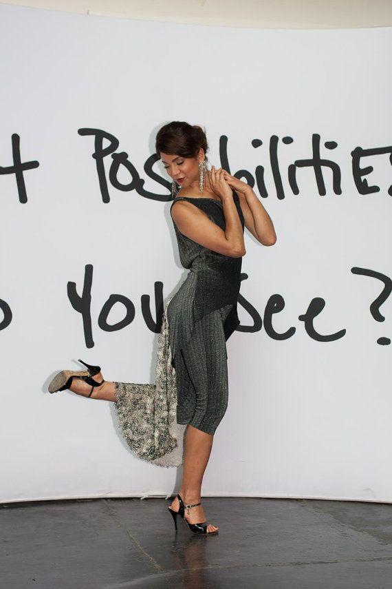 Zweiteilige Signatursatz. Tango-Kleid. von AtelierVertex auf Etsy