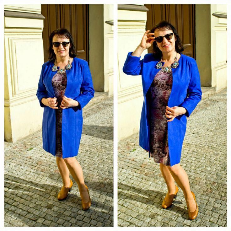 Anna, TOLMEA dress, LELKALOR coat, LILIEN CZECH jewelry  #czechfashion #prague #czech #pragueshopping #czechdesigners #czech designers #fashion #love #accesories #bags #chic #boho #style #instyle #homedecor #localfashion #local products #no fur shop #outfit #whowearus #howtowearit #hippie #elegant #gypsy #citylook #quality #folk