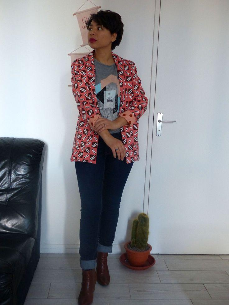 Michelle, la veste de République du Chiffon