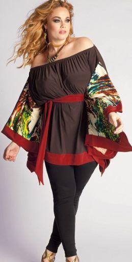 Модная одежда для полных на лето | Летняя мода для пышек