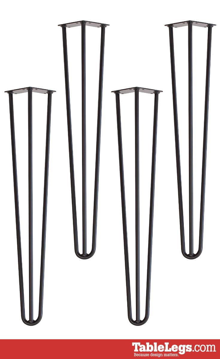 Hairpin Dining Table Leg 28 3 Rod Dining Table Legs Hairpin