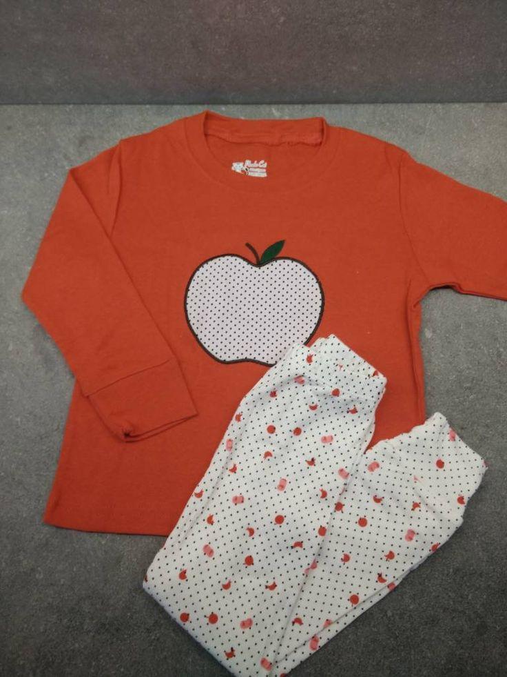 Katoenen Pyjama Appel