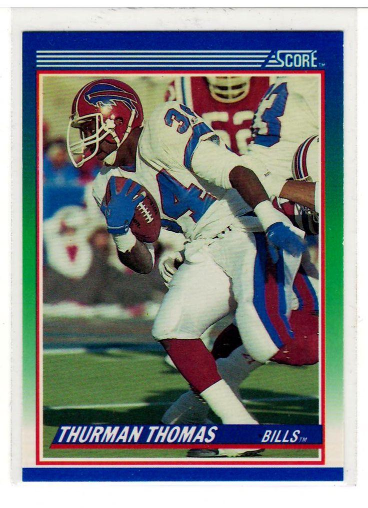 Sports Cards – 1990 Score Thurman Thomas