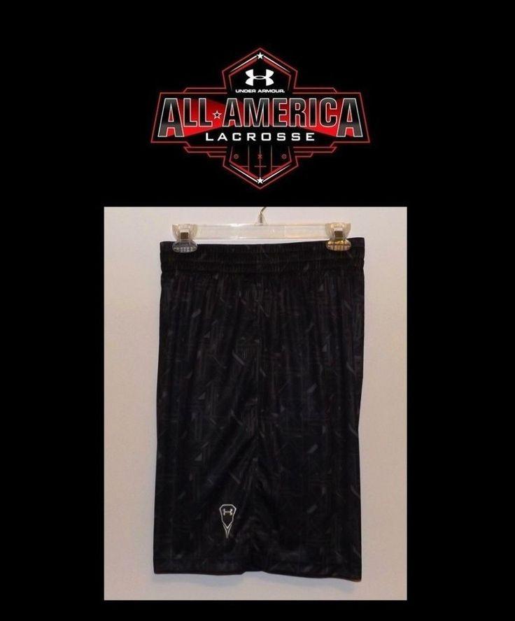 """MEN'S UNDER ARMOUR HOWIE DEWDAT 10"""" LACROSSE SHORTS SIZE XL 1232710 010  #UnderArmour #Shorts"""