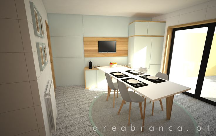 Cozinha | Kitchen #areabranca #cozinha #kitchen #modernkitchen #mesascozinha #armarioscozinha #kitchenfurniture #interior design #designinteriores