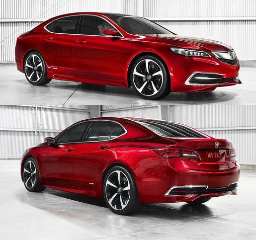 Say Goodbye TL & TSX! 2015 Acura #TLX Revealed w/ 8 or 9-Speeds »http://ow.ly/sAv84 AutoGuide.com