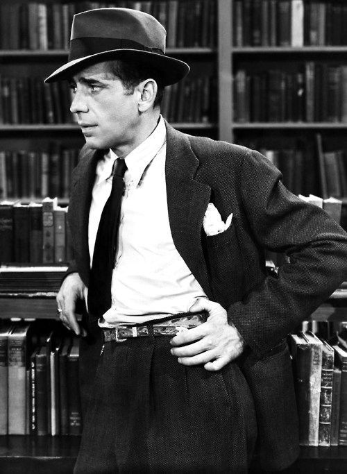 Humphrey Bogart in The Big Sleep (Howard Hawks, 1946)  via anantoinetteaffair