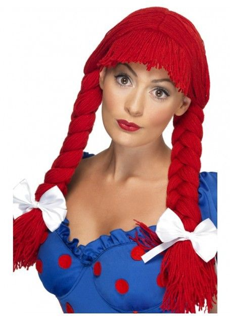 Let's Party With Balloons - Red Rag Doll Wig, $25.00 (http://www.letspartywithballoons.com.au/red-rag-doll-wig/)