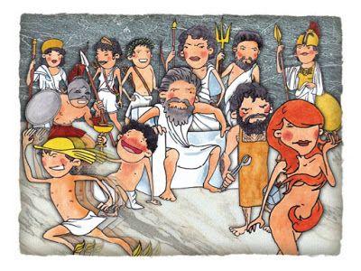 Πυθαγόρειο Νηπιαγωγείο: 12 θεοί και πλάσματα- κάρτες