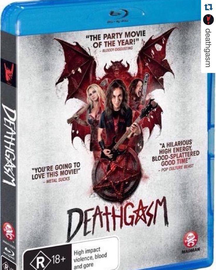 #Repost @deathgasm.  DEATHGASM comes to VOD DVD & Blu-Ray in NZ/AU tomorrow from @madmanent! #terrormolins #molinshorror best film winner. by terrormolins