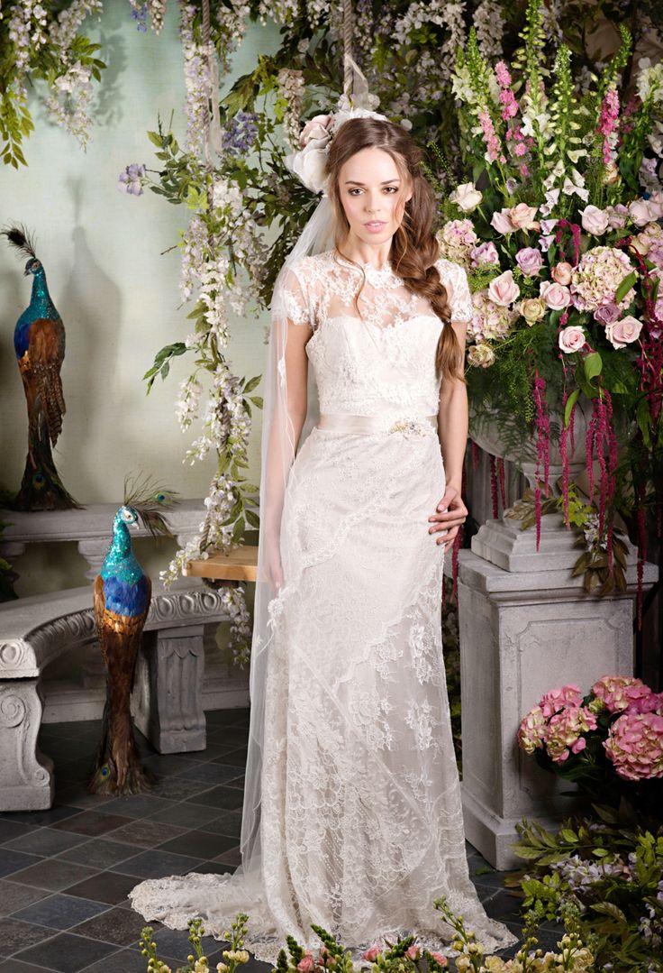 30 best Terry Fox wedding gowns images on Pinterest   Short wedding ...