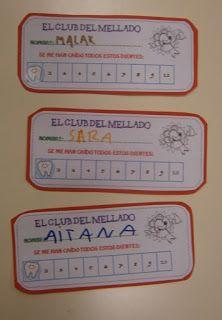 LA CLASE DE MIREN: mis experiencias en el aula: NUEVOS MIEMBROS DEL CLUB DEL MELLADO