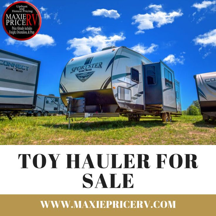 High Quality Small Toy Hauler Camper For Sale | Toy ...