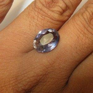 Purplish Blue Iolite 3.74 carat