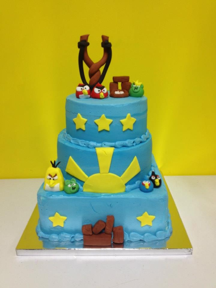 Angry Birds Cake at ISC Cherry Hill