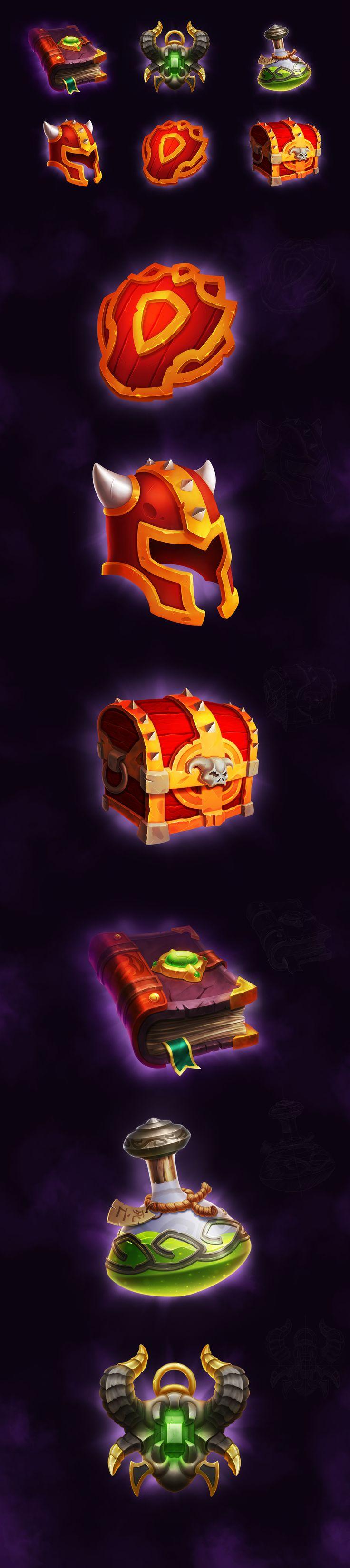 Magic icons set on Behance