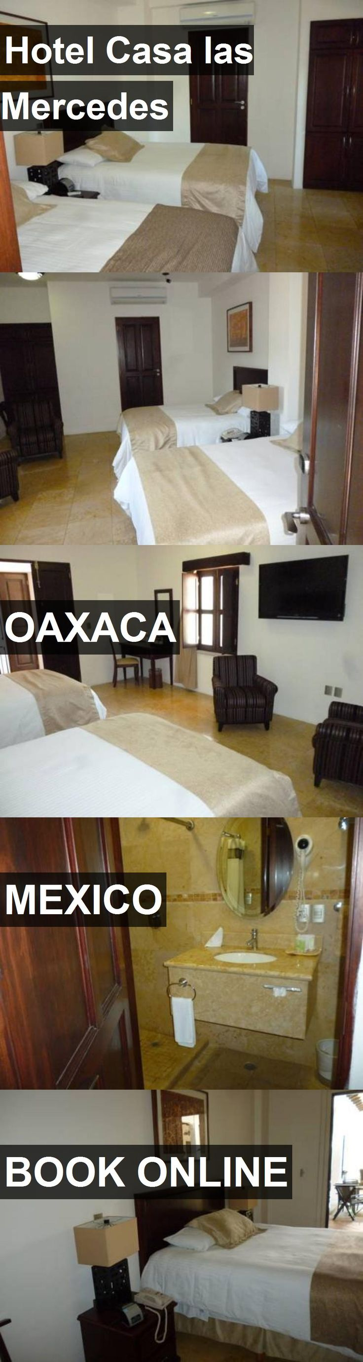 Hotel Casa las Mercedes in Oaxaca, Mexico. For more information, photos, reviews and best prices please follow the link. #Mexico #Oaxaca #travel #vacation #hotel