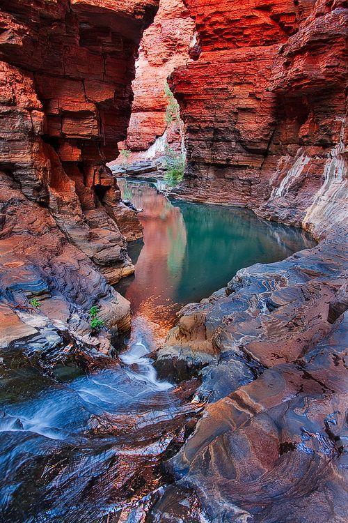 Hancock Gorge, Karijini National Park, Western Australia.