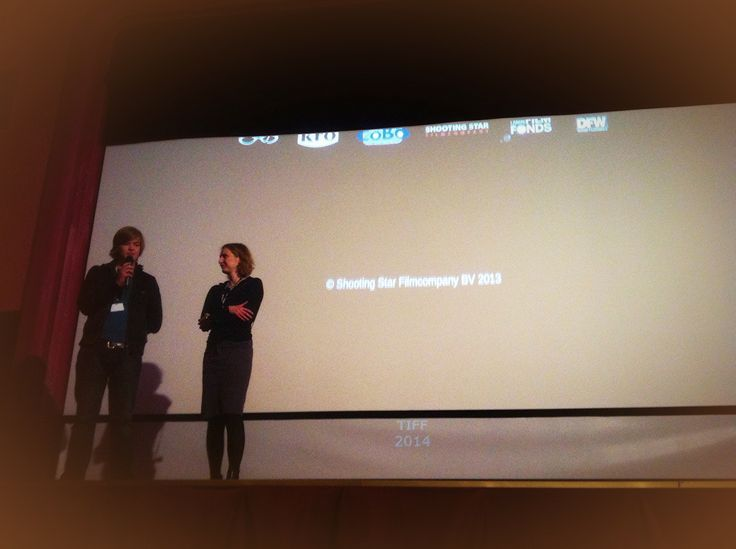 Http://filmofilia.ro - No dry eye in the house after the #EducaTIFF sreening of REGRET (Spijt), a touchig, tragic film about the consequences of #bullying - the lead is answering questions now, at #TIFF