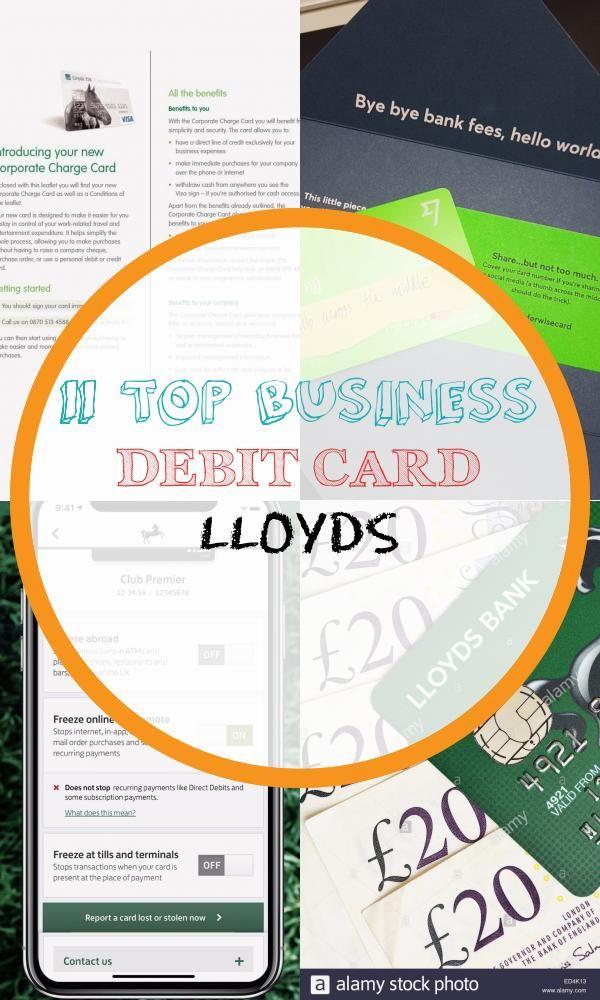 11 Top Business Debit Card Lloyds Debit Card Bank Fees Personal Loans