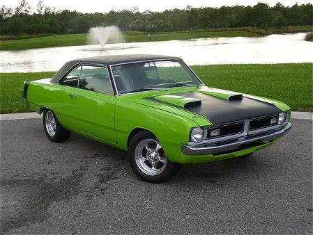 Dodge Dart In Sublime Green Or To Mopar Enthusiasts