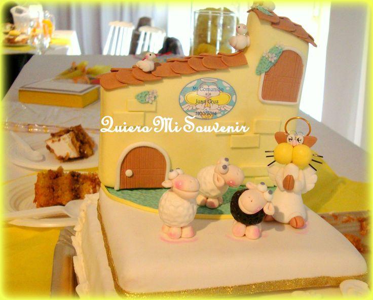 tortas de comunion de gaturro
