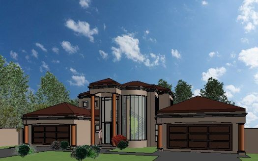 Architectural House Plan Drawing Double Story House Plan By Nethouseplans 4 Bedroom House P Tuscan House Plans Beautiful House Plans House Plans South Africa