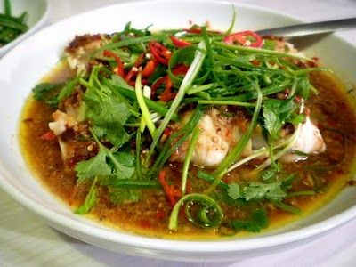 3 hungry tummies: Steamed Rockling With Hot And Spicy Bean Sauce 香辣豆醬蒸魚
