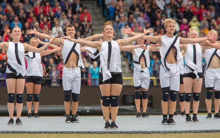 Landsstævne 2017 Aalborg Verdensholdet afslutter DGI's landsstævne.  #sipureco, #DGI, #landsstaevne, #L2017, #verdensholdet