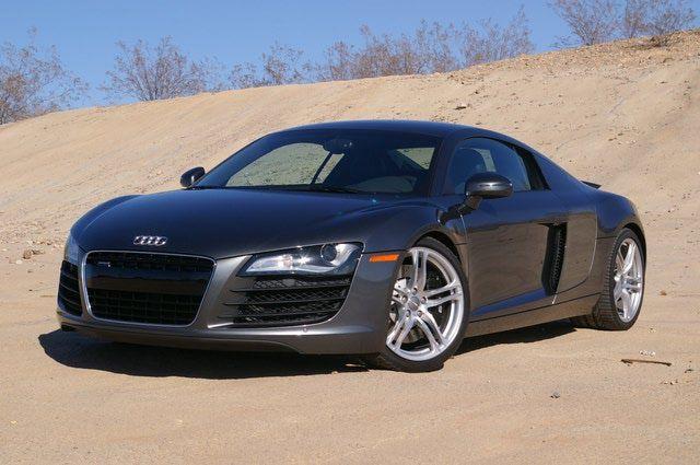 2008 Audi R8 test drive: 2008 Audi R8