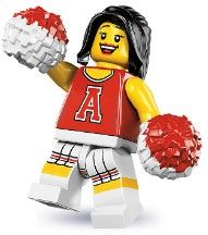 8833-13: Red Cheerleader