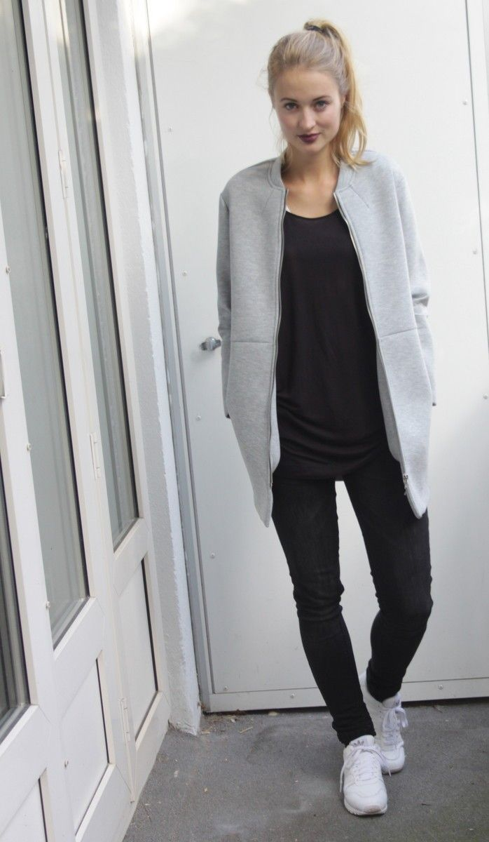 Minimal + Chic | @codeplusform white sneaker outfit styling coordinate 白 スニーカー コーデ コーディネート 合わせ方