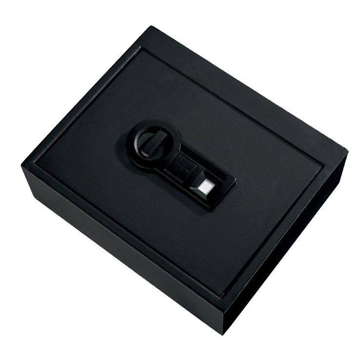 Stack-On Personal Safe Drawer with Biometric Lock Black - PS-15-05-B