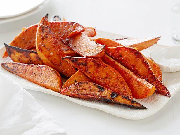 "My absolute favorite.  Baked Sweet Potato ""Fries"" recipe from Ina Garten via Food Network"