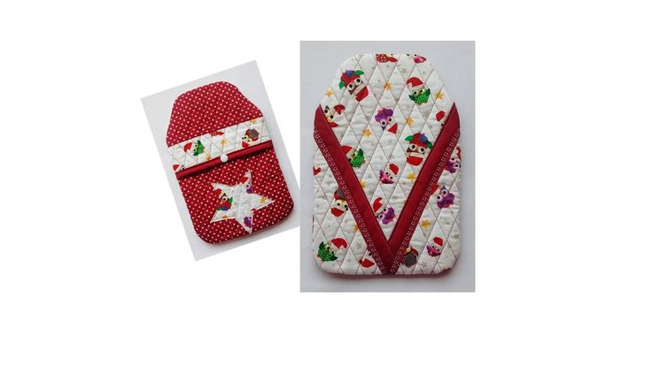 Lovely quilted, cosy, hot water bottles; 500L-sized hot water bottle included in children's styles.