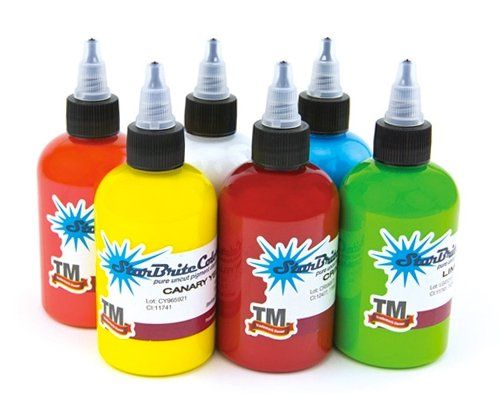 STARBRITE Tattoo Ink 6 Bottles  12oz SUMMER SET  Tattoo Supplies *** Check this awesome product by going to the link at the image. Note:It is Affiliate Link to Amazon.