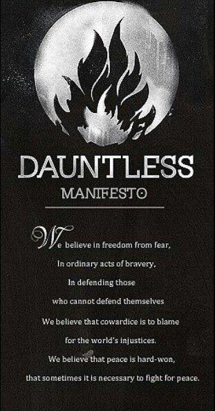 Dauntless Manifesto fo...
