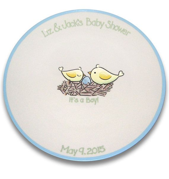 Birds of a Feather Baby Shower Signature by SerendipityCrafts