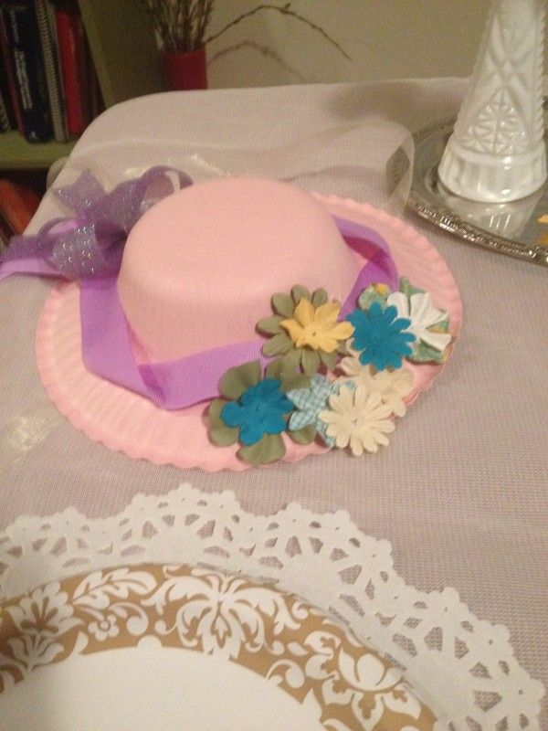 Paper Plate Hats for Kentucky Derby. Pre-construct and then have the patients paint them and decorate them with flowers and feathers.