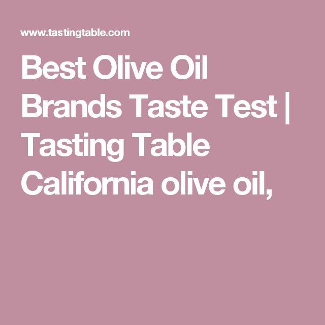 Best Olive Oil Brands Taste Test | Tasting Table: California olive Ranch, Trader Giottos Italian.
