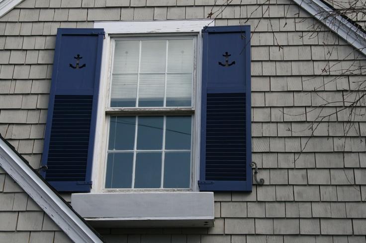 Nice nautical shutters