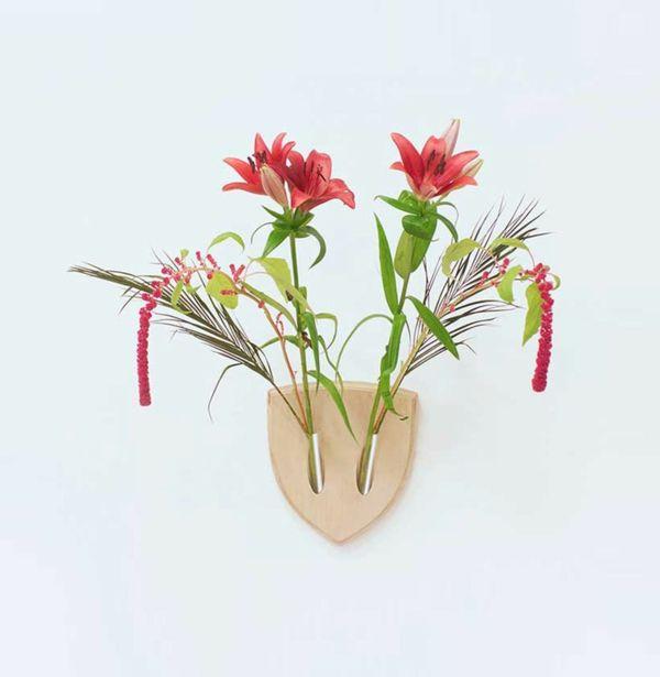 So Dekorieren Sie Ihre Wände Mit Blumen  Wanddeko Ideen Inspiriert Von Der  Japanischen Kunst Ikebana